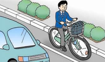 道路交通法上、自転車は軽車両 ...