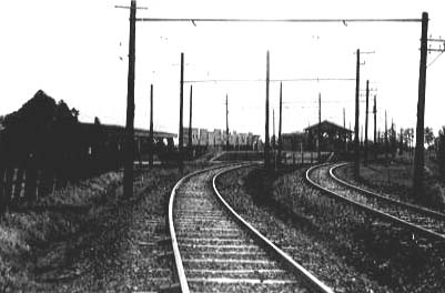 開設当時の新京成線八柱駅 開設当時の新京成線 五香駅 開設当時の新京成線 元山駅 金ケ作駅付近を