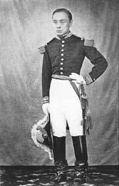「軍服姿の慶喜」の画像検索結果